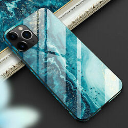 Tempered Glass Phone Case For iPhone 12 11 Pro Max Xs Xr 8 7 Plus Cover TPU Hard $8.99