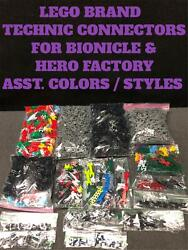 LEGO TECHNIC CONNECTOR PARTS for BIONICLE HERO FACTORY  CHOOSE YOUR STYLECOLOR