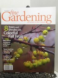 Fine Gardening Get More Compost with Less Work Fall Cleanup Grasses 2005 Taunton $8.95