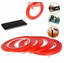 RED Double Sided Super Sticky Heavy Duty Adhesive Tape For Cell Phone Repair $3.94