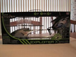 2016 SKY ROVER EXPLOITER X HELICOPTER RC OUTDOOR NEW UNOPENED $42.00