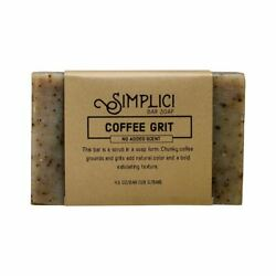 Simplici Coffee Grounds Bar Soap Unscented $6.99