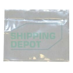 7x10quot; or 4.5x5.5quot; Clear Packing List Envelopes Pouches Shipping Depot $1.10
