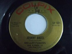 Shelley Fabares Johnny Angel  Where's It Gonna Get Me 45 Colpix Vinyl Record