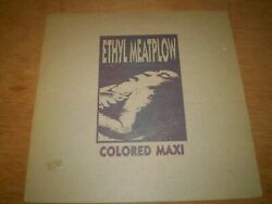 ETHYL MEATPLOW Colored Maxi 12quot; Blue Wax NM Ministry Butthole Surfers Blondie $22.99