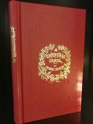 A Christmas Carol by Charles Dickens Deluxe Hardcover Collectible Slipcase