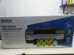 Epson Stylus Photo 1400 Wide Format Inkjet Printer Claria Hi-Def Printer Only!