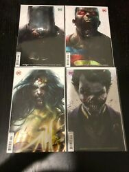 DCEASED # 1 2 3 4 Mattina Covers Batman Superman Joker Wonder Woman Lot of 4
