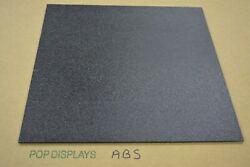 Abs Plastic Sheet 14 Black  CHOOSE A SIZE $7.80