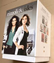 NEW! RIZZOLI & AND ISLES: THE COMPLETE SERIES 1-7 24 DISC DVD BOX SET Collection