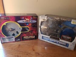 Star Trek Starship legends Wrath of Khan and enterprise NX-01 -2 ships