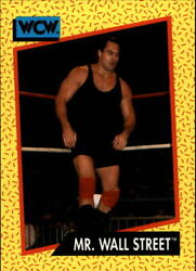 1991 Impel WCW #84 Mr. Wall Street NM MT $0.99