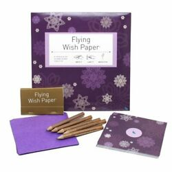 Flying Wish Paper WISHING KIT Write it Light it and Watch it Fly Large Kits $12.49