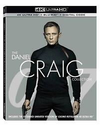 The Daniel Craig 4K Collection with Bluray Collection Brand New Untouched 8 Disc