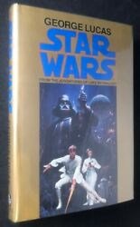 George LUCAS  Star Wars From the Adventures of Luke Skywalker UNIQUE Signed 1st