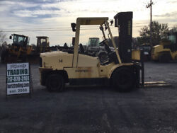 2004 Hyster H110XL 11000LB Propane Forklift NEEDS WORK PLEASE READ DESCIPTION!