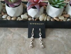 AUTHENTIC GIVENCHY EARRINGS $25.00