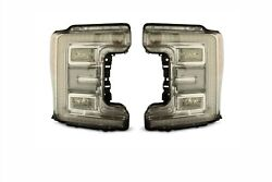 LED Headlight Assemblies & Conversion Harness For 2017-2019 Ford Super Duty