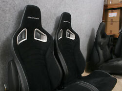 BMW Performance Seats Silver RECARO - the Pair 1M M3 f21 e82 e90 e91 e92 e46