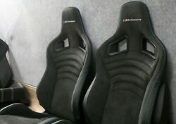 BMW Performance RECARO Seats Blue - the Pair M2 M3 M4 f21 e92 f87 f82
