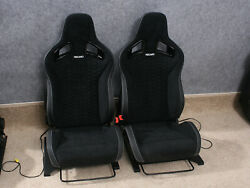 RECARO Sportster VW Golf R GTi w. Airbags Seats - the Pair
