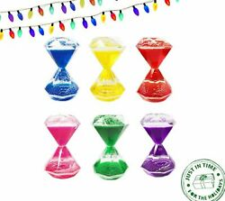 Liquid Motion Floating Bubbler Timers Sensory Play Diamond Shaped Anxiety Autism $5.99