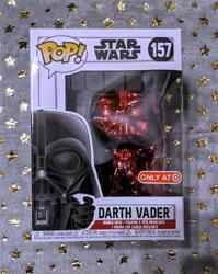 Red Chrome Darth Vader Funko Pop! #157 Star Wars Target Red Card Exclusive