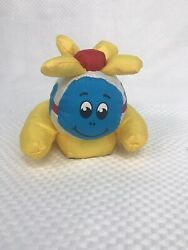 Tonka helicopter soft bath toy pull string red white blue yellow vintage $24.99