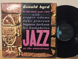 Donald Byrd Half Note Cafe Jazz At Waterfront Vol 2 EX BLUE NOTE