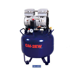 Dental Air Compressor Oil Free Silent One Drive Two 32L GM 2EW 110V EM $608.96