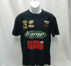 2008 Chase Authentics Dale Jr 88 Amp Energy National Guard T-Shirt Large
