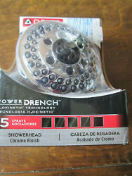 Delta 75569C H2Okinetic Chrome 5-Spray Shower Head