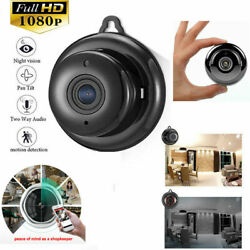 Indoor Mini Camera Wireless Wifi Home Security Cam 1080P Video DVR Night Vision $15.85