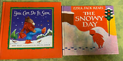 You Can Do It Sam Book amp; The Snowy Day 2 Hardback Christmas Books $15.00