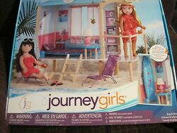 2017 JOURNEY GIRLS BEACH HUT FOR 18quot; DOLLS EXCLUSIVE TOYS R US NEW UNOPENED $95.00