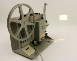 Vintage Argus Showmaster 1000 Portable Movie Projector 8MM Film With Reel Case