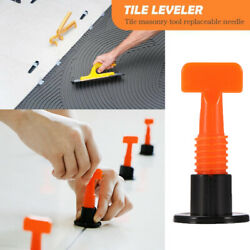 50-200X Flat Ceramic Floor Wall Construction Tool Reusable Tile Leveling System