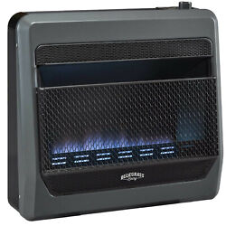 Bluegrass Living Propane Gas VentFree Blue Flame Gas Heater With Blower and Feet $254.99