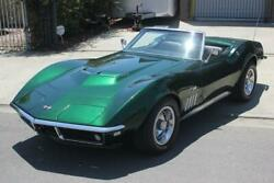 1968 Chevrolet Corvette 427 V8 1968 Chevrolet Corvette 427 V8 84031 Miles green   Manual