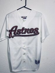 Majestic Authentic Houston Astros Throwback White Jersey