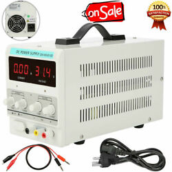 30V 10A Adjustable DC Power Supply Precision Variable Dual Digital Lab Test NEW $59.77