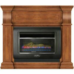 Duluth Forge Mini Hearth Ventless Gas Wall Fireplace 26000 BTU Toasted Almond $619.99