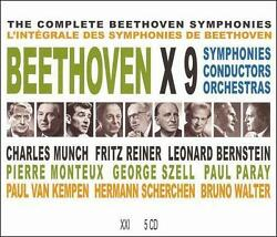 various artists : Beethoven x 9 CD