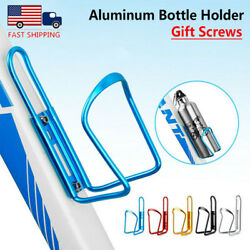 2PCS Aluminum Alloy Bike Drink Water Bottle Cup Holder MTB Bike Bicycle Cages $8.59