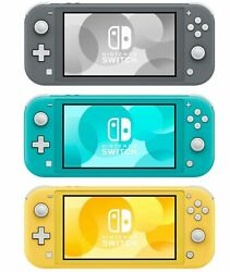 Nintendo Switch Lite 32GB Handheld Video Game Console - New  $255.00