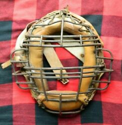 Vintage Spalding Baseball Catcher#x27;s Mask $64.95