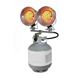 Dyna-Glo Double Burner 30000 BTU Radiant Tank Top Propane Portable Heater $64.75
