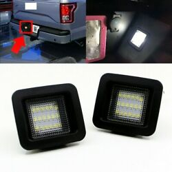 For 2015-2018 Ford F150 HIGH POWER LED Smoke License Plate Light Bulb Assembly $12.39