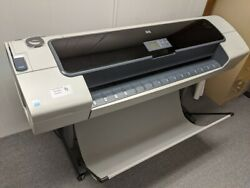 HP DESIGNJET T1100 44 LARGE FORMAT PRINTER PLOTTER W CARRIAGE BELT $1,685.23