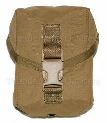USGI 100 ROUND UTILITY POUCH US Military MOLLE II SAW Mag Pouch Coyote Brown NEW $11.49